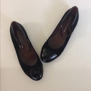 Marc by Marc Jacobs Black Mary Jane Flats